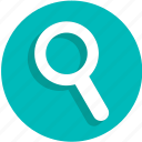 magnifier, magnifying glass, search, ui, zoom icon