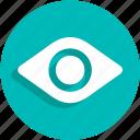 eye, turn, ui, webcam icon