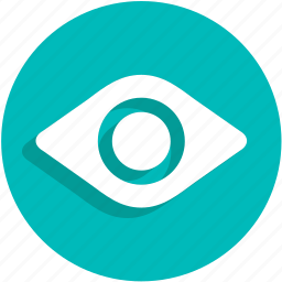 eye, turn, ui, webcam icon
