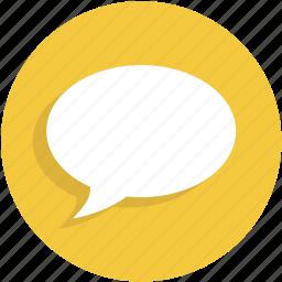bubble, chat, conversation, message, talk, ui icon