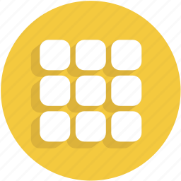 keypad, menu, squares, thumbnails, thumbs, ui icon