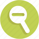 out, ui, zoom, magnifier, find, search
