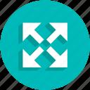 arrows, cursor, resize, ui icon