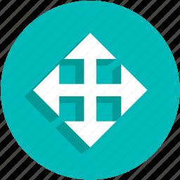 arrows, control, fullscreen, ui icon