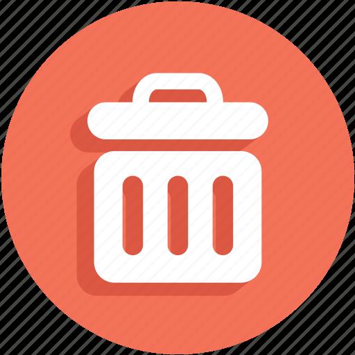 delete, recycle bin, remove, trash, ui icon