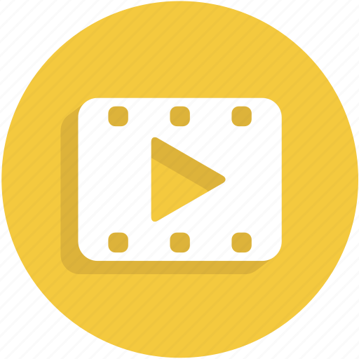film, movie, ui, video icon