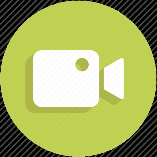 movie, ui, video, video camera icon