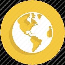 earth, globe, gps, place, ui icon