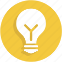 idea, lamp, light, torch, ui icon