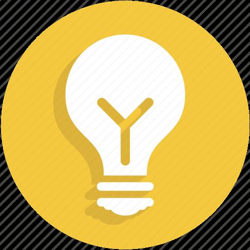 idea, lamp, light, torch, ui icon