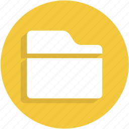 document, file, folder, ui icon