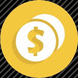 cash, coins, money, payment, ui icon