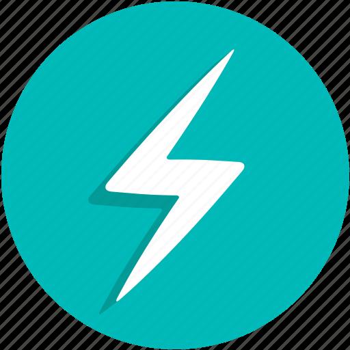 charge, energy, lightning, power, ui icon
