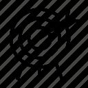 aim, archery, goal, target icon