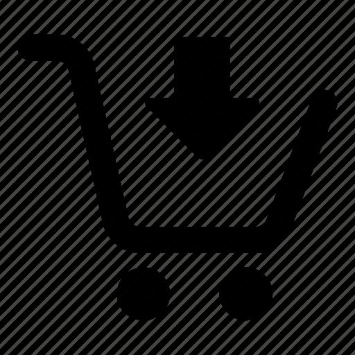 add, basket, buy, cart, commerce, ecommerce, shopping icon