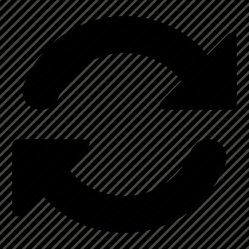 arrows, circular arrow, direction, orientation, refresh icon