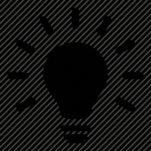 bulb, electric, idea, illumination, light bulbs, lightbulb icon