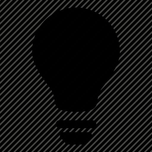 bulb, idea, illumination, light bulbs, lightbulb, technology icon