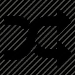 arrows, change, changing, exchange, random icon