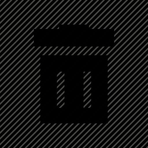 bin, bucket, garbage, rubbish, trash icon