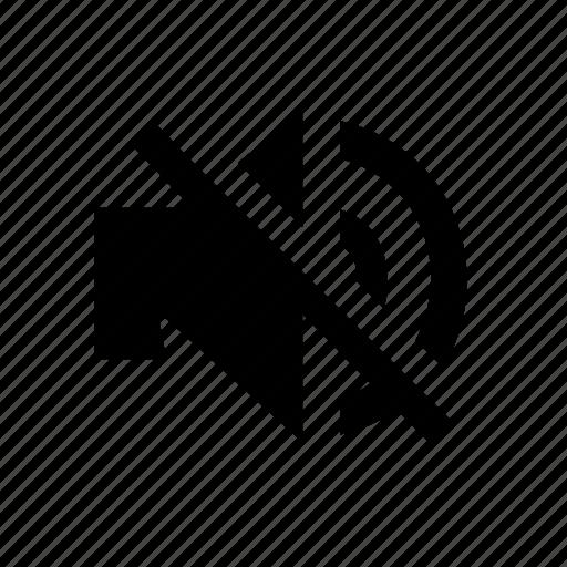 audio, music, sound, volume, without icon