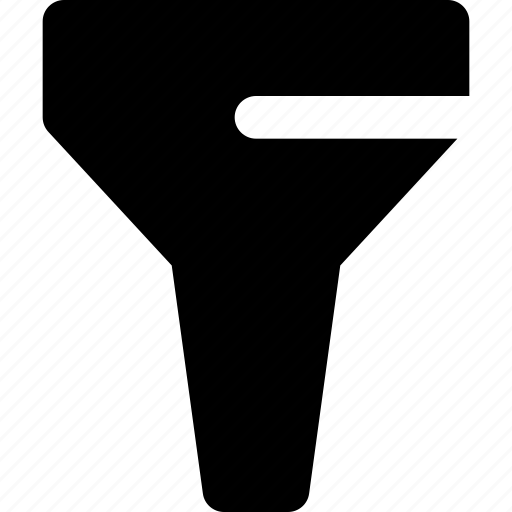 filter, funnel, organize, ui icon