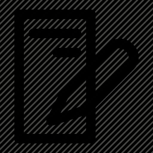 app, file, peaper, ui, ux, web icon