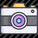 camera, digital, photo, snapchat icon