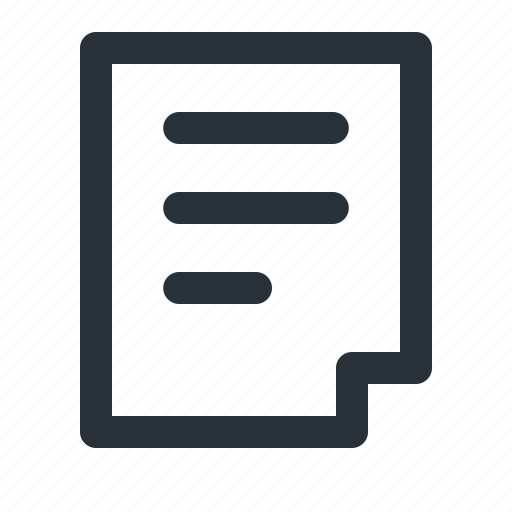 document, draft, extension, file, file type, format, paper icon