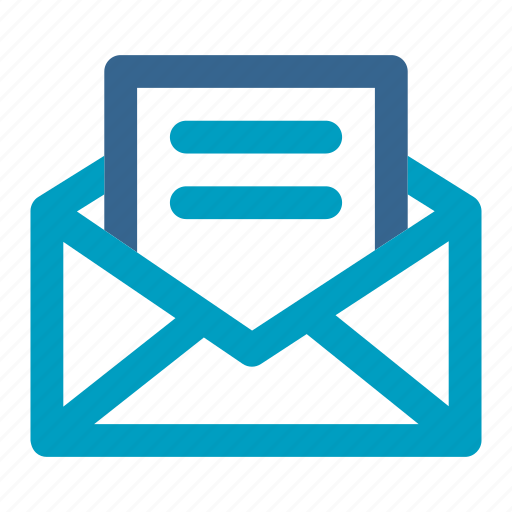 communication, contact, email, envelope, mail, message, newsletter icon