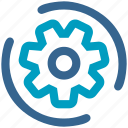 cog, cogwheel, engine, gear, industry, mechanical, settings icon