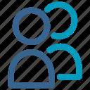 avatar, friend, member, person, profile, social, user icon