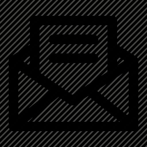 Email, envelope, internet, letter, mail, message, newsletter icon - Download on Iconfinder