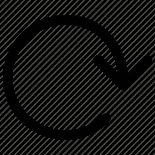arrow, loop, refresh, reload, repeat, reset, rotation icon