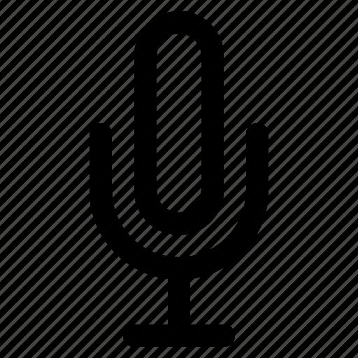 mic, mobile, phone, ui icon