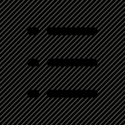 interface, list, mobile, ui icon