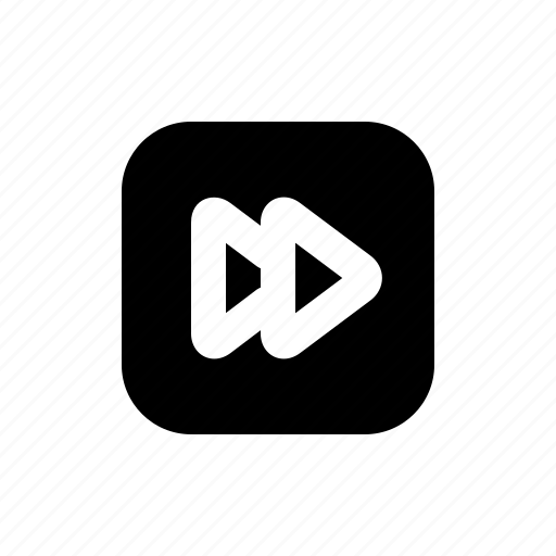 arrow, forward, media, multimedia, right, user interface, video icon