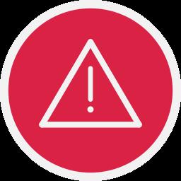 alert, danger, warn, warning icon
