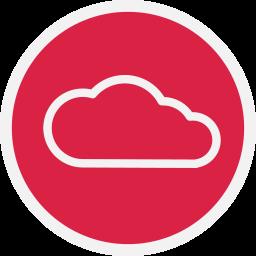 cloud, storage, web icon