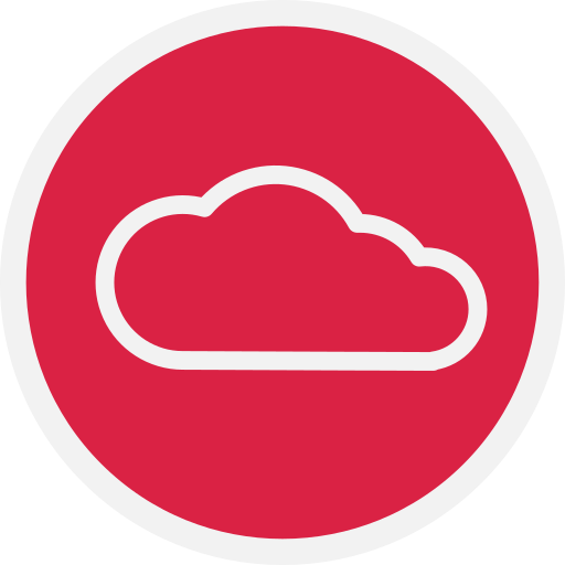 cloud, storage, web icon