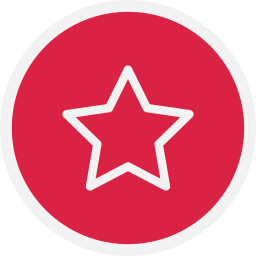 favourite, star, starred icon