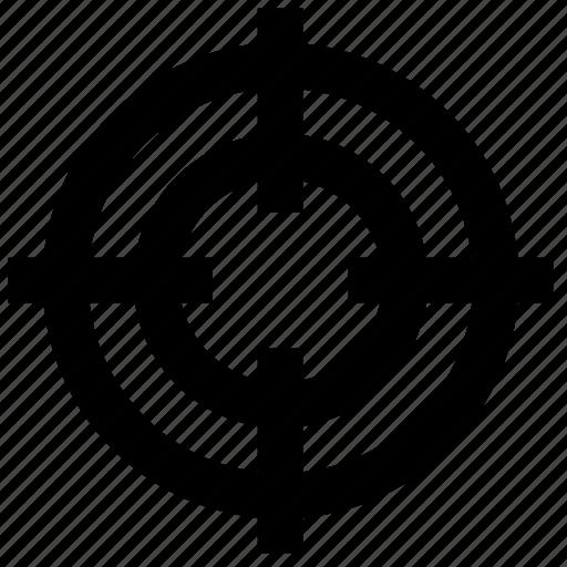 aim, business, focus, hunting, marketing, target, targeting icon