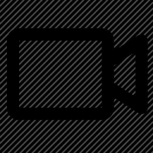 camera, media, movie, multimedia, play, record, video icon