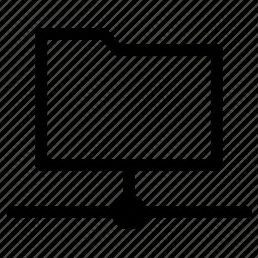 database, folder, network, server icon