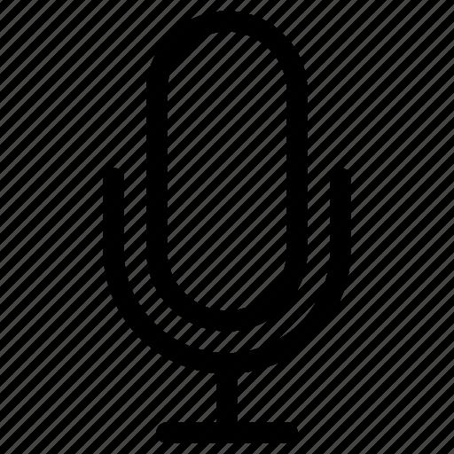mic, microphone, sound, transducer icon