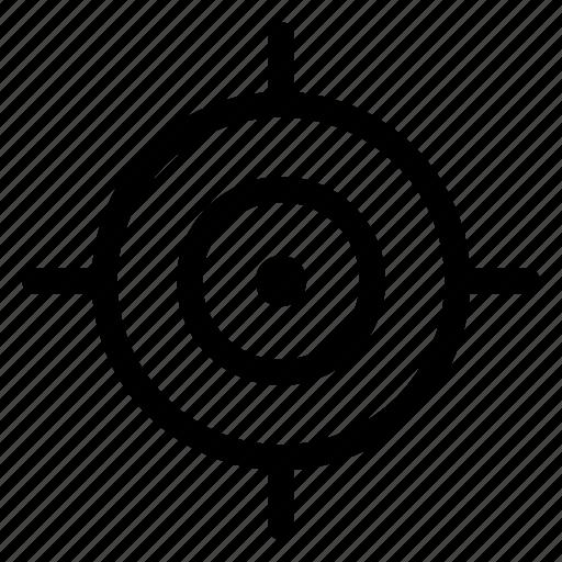 goal, marketing, purpose, target icon