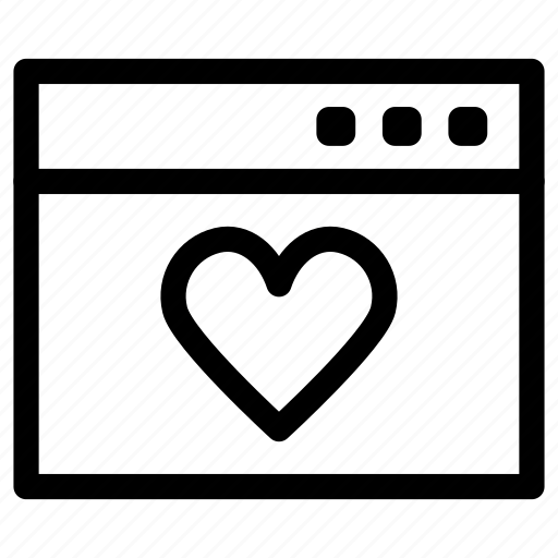 adults, dating, heart, love, website icon
