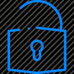 lock, password, security, unlock icon