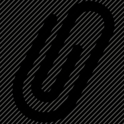 attach, attachment, document, files, paperclip, ui icon