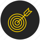 aim, archery, center, game, goal, sport, target icon